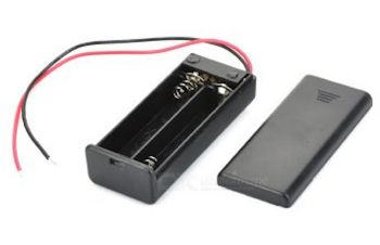 2 x AAA Battery Holder with on/off switch